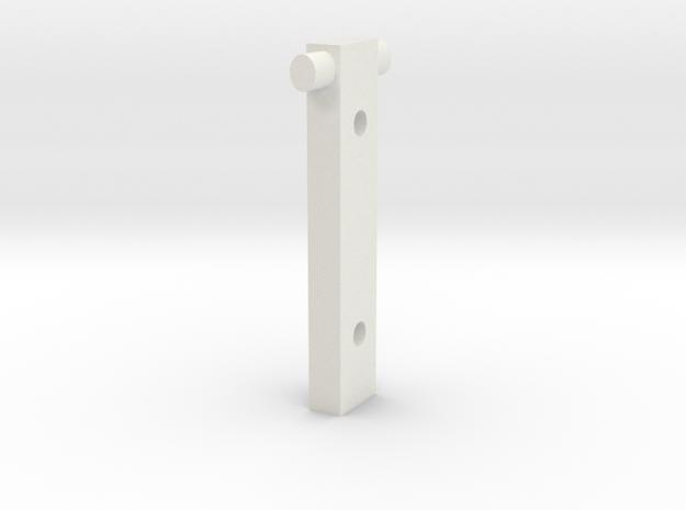 20150420SquirrelRollerHolderFullSize in White Natural Versatile Plastic