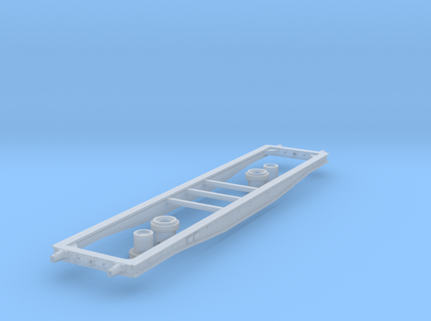 Coil E & G (ex Warflat 50t) chassis  in Smooth Fine Detail Plastic