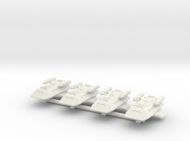 1/1000 Scale Scamper Volkov Type K-37 in White Natural Versatile Plastic
