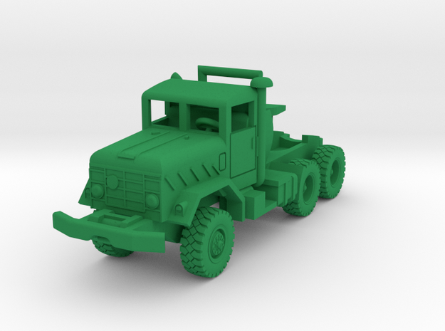 M931a2 Tractor in Green Processed Versatile Plastic: 1:144