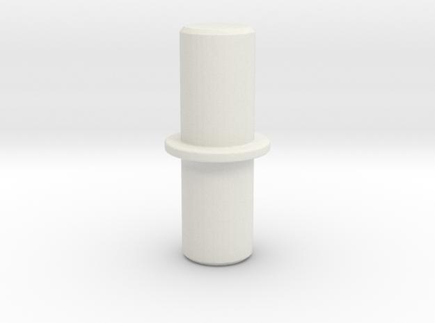 ShelvingPlugs in White Natural Versatile Plastic
