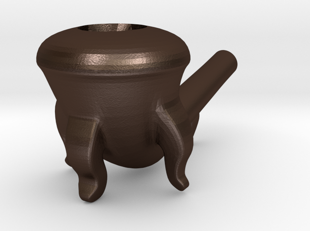 Wizard (Calabash) Smoking Pipe 3d printed