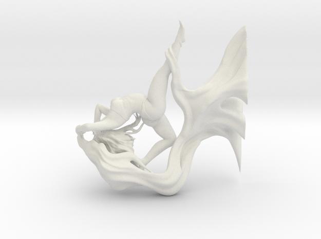 Dancer 148mm. in White Natural Versatile Plastic
