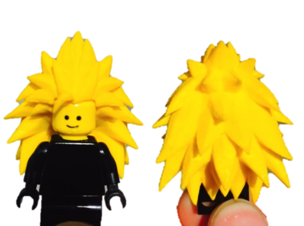 Custom Goku SSj3 Inspired Lego