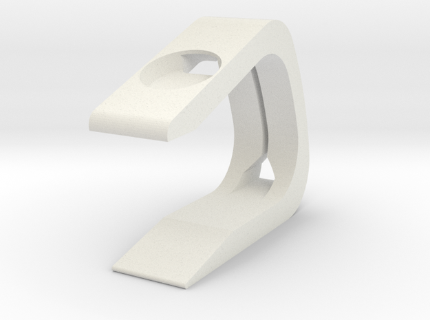 Apple Watch Stand in White Natural Versatile Plastic