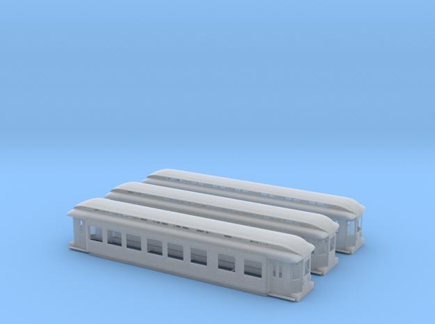 ZHESM setje 3(1) in Smooth Fine Detail Plastic
