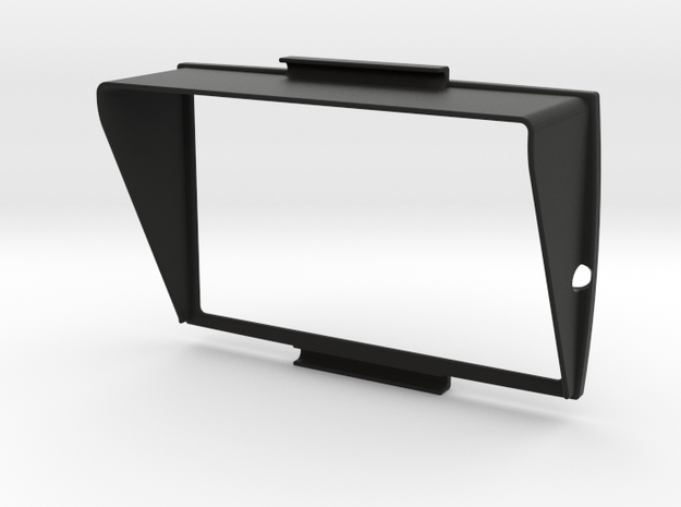 Sunshade A (38mm) for BMW Navigator 5 in Black Natural Versatile Plastic