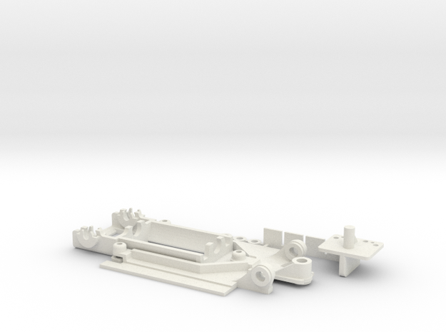 911GT1 Typ3 SG in White Natural Versatile Plastic