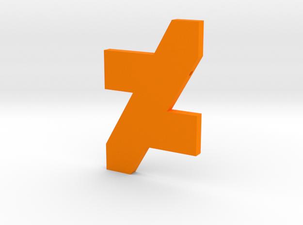 DA Logo 2 Normal CH4 in Orange Processed Versatile Plastic