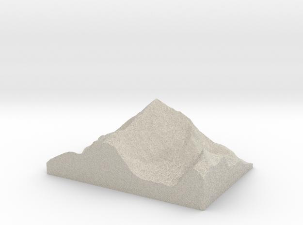 Model of Dent Blanche in Sandstone