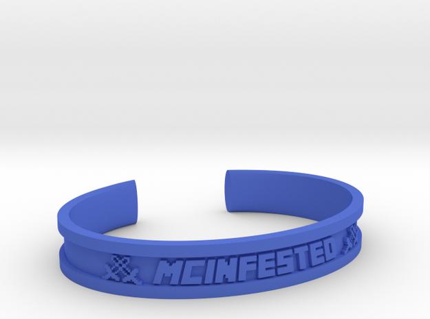 McBracelet (2.2 Inches) in Blue Processed Versatile Plastic