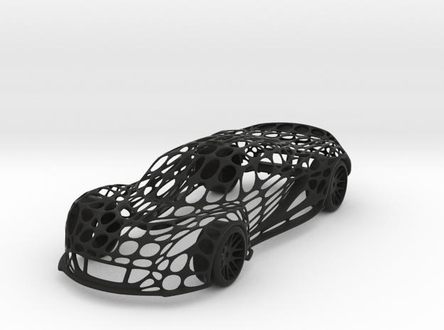 Hennessey Venom GT Cellular Wireframe in Black Strong & Flexible