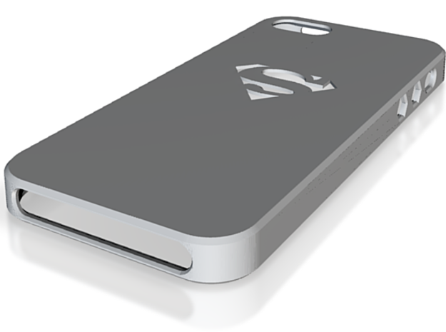 Iphone5 Case Superman 3d printed