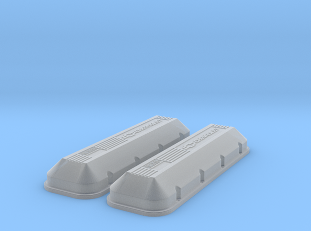 1/8 BBC 502 Logo Valve Covers 3d printed