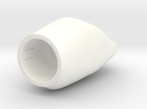 ZIM X6 OK - Diente NP X6-1 in White Processed Versatile Plastic