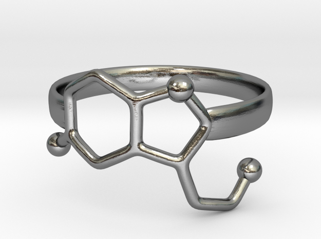 Serotonin Molecule Ring - Size 7