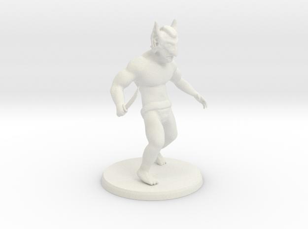 Goblin Shanker in White Natural Versatile Plastic