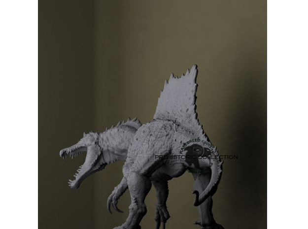 Spinosaurus 3d printed 3d print creature by ©2012-2015 RareBreed