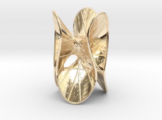 MiniSculptSilver Clebsch 27Lines  3d printed