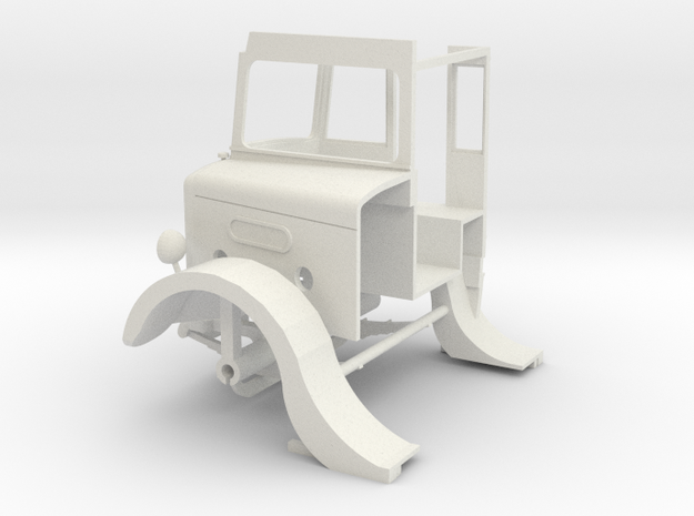 1:43 London Transport STL11-Cab in White Strong & Flexible