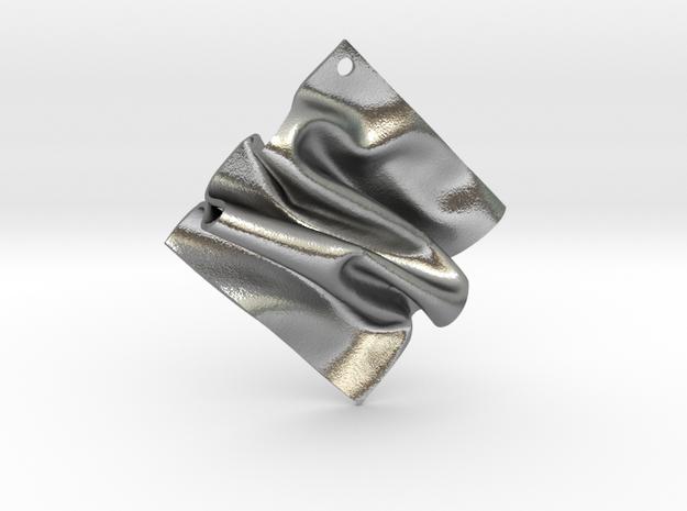 Drape A in Raw Silver