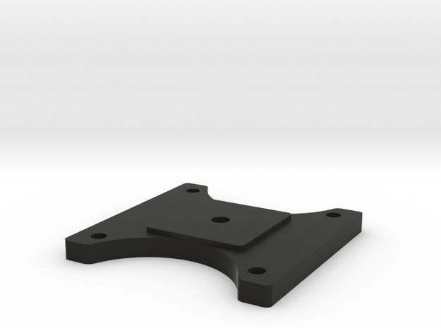 CameraPlateV2 in Black Natural Versatile Plastic