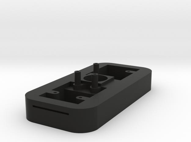 CameraHolder-1piece-c-mounttap in Black Natural Versatile Plastic