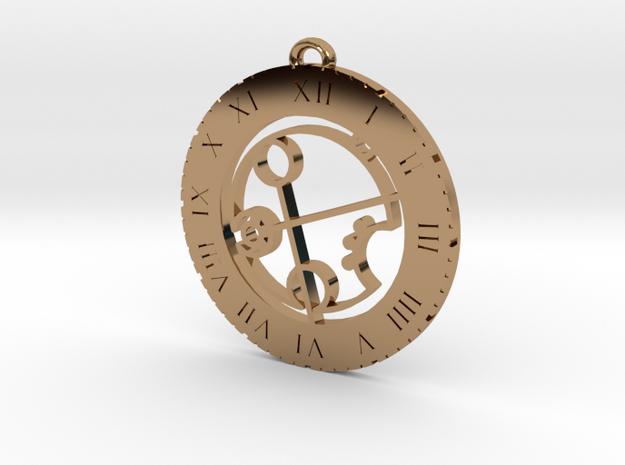 Brandi - Pendant in Polished Brass