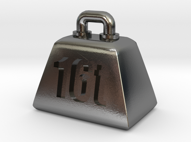 16t weight (Pendant-top) 3d printed