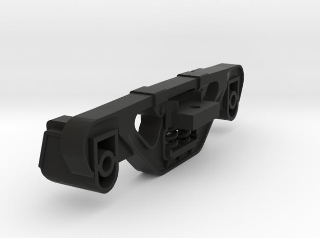 EBT Vulcan Truck Side Frame 1/22.5 in Black Strong & Flexible