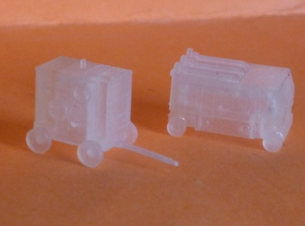1/144 Ground Equipment Set 2 3d printed