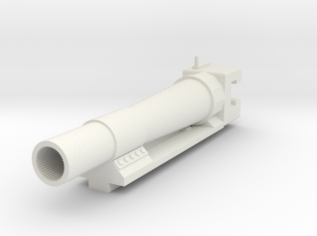 150mm sIG Barrel Early Type in White Strong & Flexible