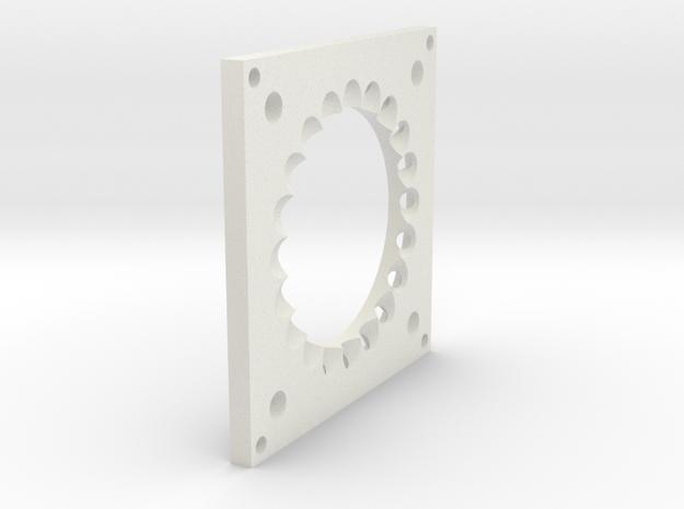 LightMount2 in White Natural Versatile Plastic