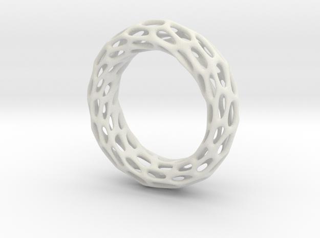 Trous Ring S 9.5 in White Natural Versatile Plastic