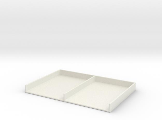 Deck Holder - Sabacc in White Natural Versatile Plastic