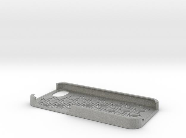 Iphone 5 cover - pattern in Metallic Plastic