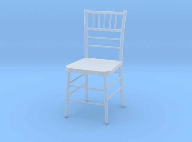 Chiavari Chair 1:48 in Frosted Ultra Detail