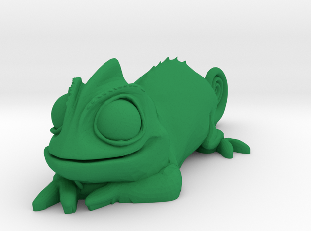 Pascal Chameleon in Green Processed Versatile Plastic