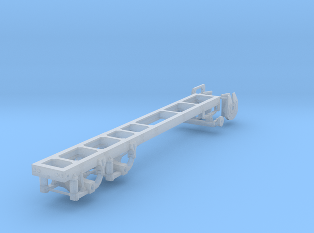 1/87th Long Truck Frame air ride Chassis in Smooth Fine Detail Plastic