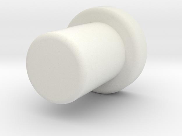 Aeg IB Groove Cutting Guide (For KJW M4) in White Natural Versatile Plastic