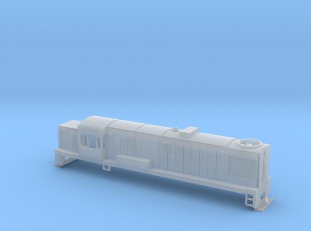 DJ Locomotive, New Zealand, (HO Scale, 1:87) 3d printed