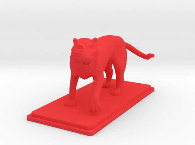 Tiger figure 3d printed