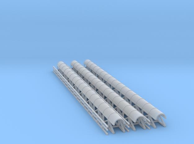 N Scale Mining Conveyor with Walkway 3d printed