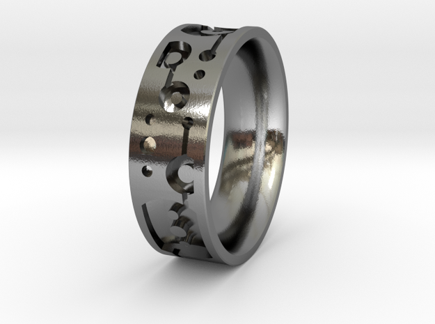 JessRing - Size 8 in Polished Silver