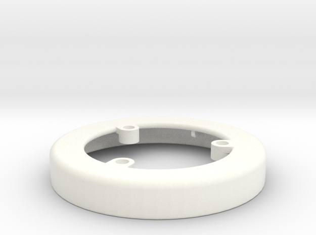 Plunge Freeze Insert Top V4 in White Strong & Flexible Polished