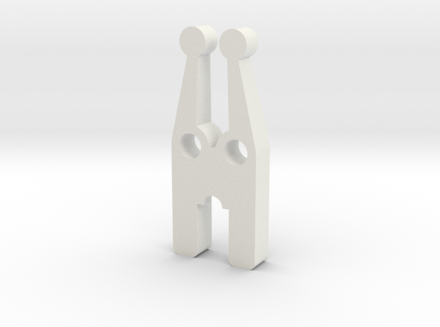 Fuse Puller in White Natural Versatile Plastic