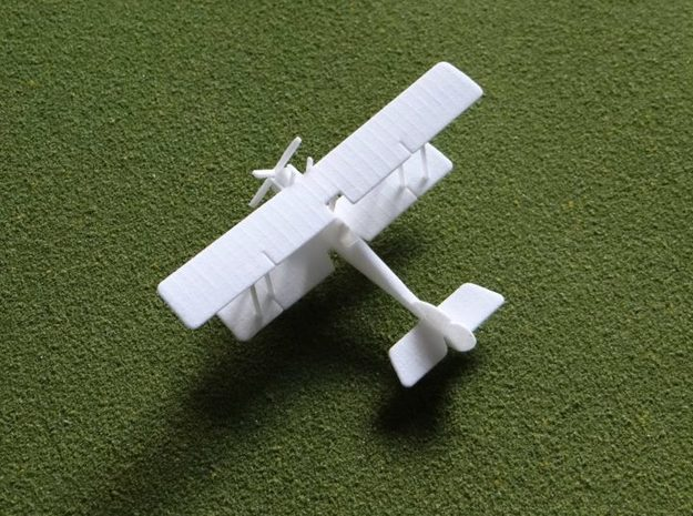 "RAF B.E.2e ""Quirk"" 1:144th Scale 3d printed"