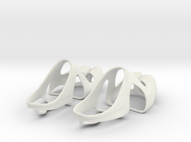 SiFi Sandals Top in White Strong & Flexible