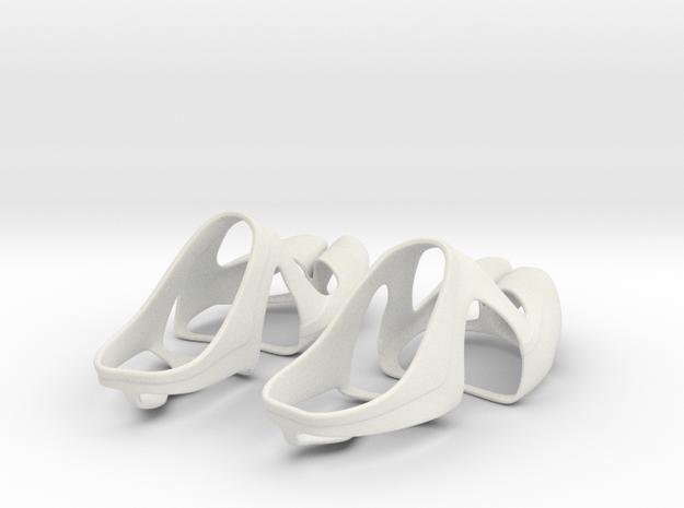 SiFi Sandals Top in White Natural Versatile Plastic