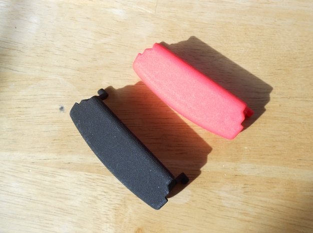 Audi A4 B6 armrest lid standart 3d printed Black and Red example